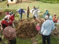 first batch Bocashi in Soni