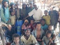 First batch bio-fertilizer at Getaw Mekonnen Mixed Farm, Rema, Ethiopia