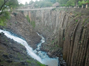 basaltic formation in Hidalgo, México